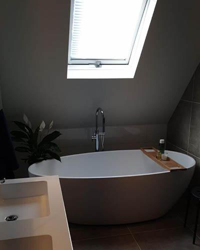 verbouwing badkamer van der vecht